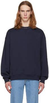 Acne Studios SSENSE Exclusive Navy Flogho Sweatshirt