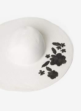 Dorothy Perkins Monochrome Raffia Floppy Hat