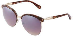 Balmain Two-Tone Cat-Eye Plastic Sunglasses