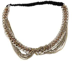 Maison Michel Chain-Link Headband w/ Tags