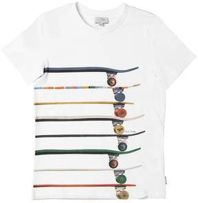 Paul Smith Skate Print Cotton Jersey T-Shirt