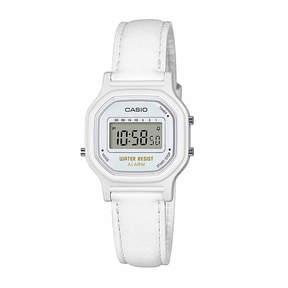 Casio Womens White Strap Watch-La11wl-7a
