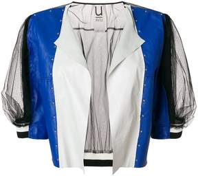 Aviu colour-block fitted jacket