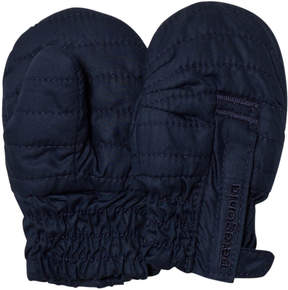 Patagonia Baby Navy Blue Puff Mitts