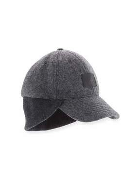 UGG Wool Knit-Trim Baseball Hat
