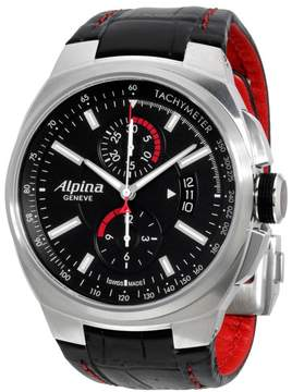 Alpina Racing AL725B5AR26 Stainless Steel & Leather Automatic 45mm Mens Watch