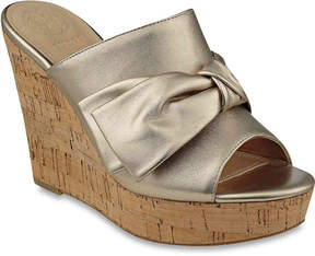 GUESS Women's Hot Love Wedge Sandal