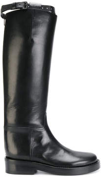Ann Demeulemeester mid calf length boots