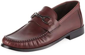 Bruno Magli Men's Praline Leather Slip-On Bit Moc Loafer