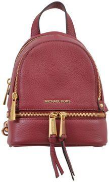 MICHAEL Michael Kors Mini Rhea Backpack - GRANATA - STYLE