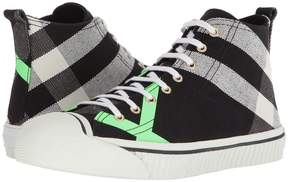 Burberry Bourne Mid Top Sneaker Men's Shoes
