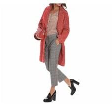 Altea Women's Red Wool Coat.