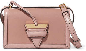 Loewe Barcelona Small Textured-leather Shoulder Bag - Blush