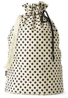 Kate Spade Polka Dot Laundry Bag - BROWN - STYLE