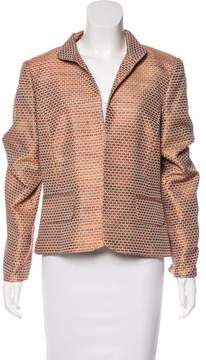 Ellen Tracy Linda Allard Structured Open-Front Jacket