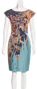 Matthew Williamson Printed Satin Dress