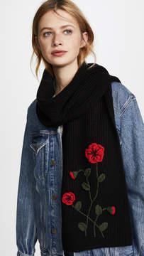 Kate Spade Crochet Poppy Muffler