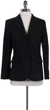 Brooks Brothers Black Cashmere Blazer