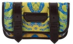 Proenza Schouler Jacquard Leather-Trimmed Wallet