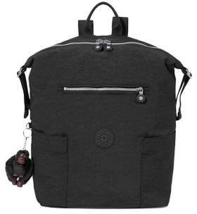Kipling Textured Top Zip Backpack - TRUE BLUE - STYLE
