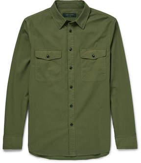Rag & Bone Jack Slim-Fit Cotton-Twill Shirt