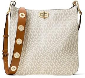 Michael Kors Sullivan Large Logo Messenger Bag - Vanilla - 30H6GUPM3V-150 - OFF-WHITE - STYLE