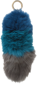 Jocelyn Women's Fox Tail Keychain