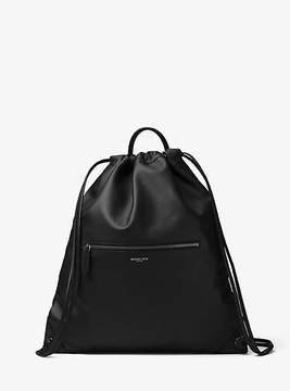 Michael Kors Dylan Leather Drawstring Backpack