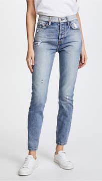 Current/Elliott The Ultra High Waist Skinny Jeans