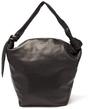 Isabel Marant Eewa Leather Shoulder Bag - Womens - Black