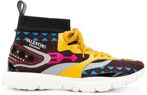 Valentino Heroes embroidered sneakers