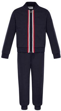 Moncler Zip-Up Cardigan w/ Joggers, Size 4-6