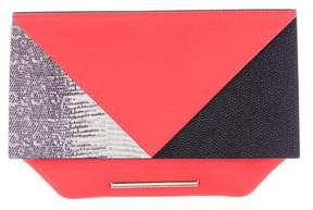 Roland Mouret Colorblock Kite Clutch
