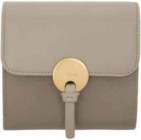 Chloé Grey Square Indy Wallet