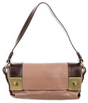 Mulberry Bicolor Leather Shoulder Bag