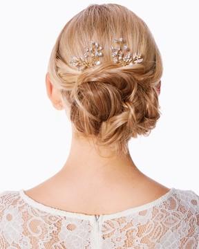 Charming charlie Poppy Sparkle Hair Pin Set