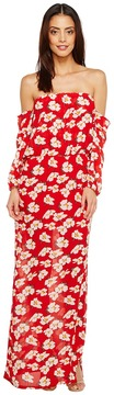 Brigitte Bailey Ruby Off the Shoulder Maxi Dress Women's Dress