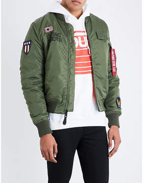 Alpha Industries Flying tigers padded bomber jacket