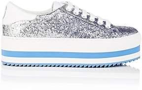 Marc Jacobs Women's Blue Grand Glitter Platform Sneakers