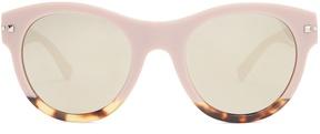 VALENTINO Cat-eye frame acetate sunglasses