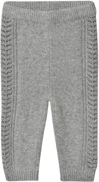 Mini A Ture Noa Noa Miniature Grey Knit Leggings