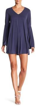 Dee Elly Bell Sleeve Shift Dress