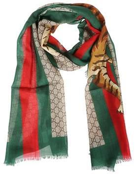 Gucci Men's 4955114g2003174 Multicolor Wool Scarf.