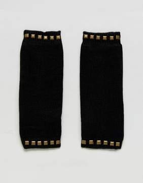 Plush Fleece Lined Studded Armwarmer