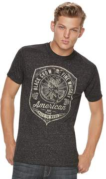 Rock & Republic Men's Black Crow Tee