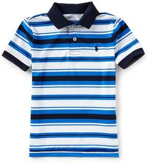 Ralph Lauren Little Boys 2T-7 Short-Sleeve Striped Polo Shirt