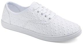 Mossimo Women's Lunea Canvas Sneakers