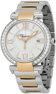 Chopard Imperiale Silver Dial Steel and Rose Gold Ladies Watch
