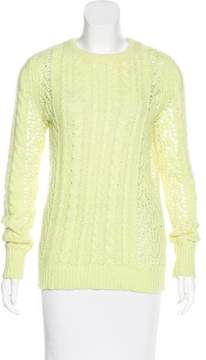 Equipment Cable Knit Sweater