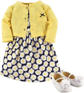 Hudson Baby Yellow Sea Dress Set - Newborn & Infant